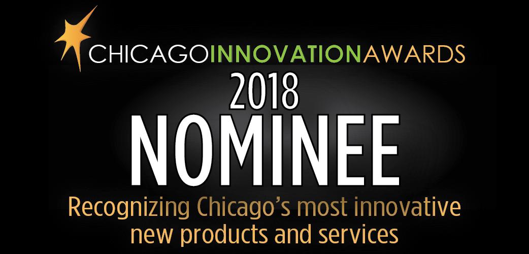 Chicago Innovation Awards Nominee badge 2018