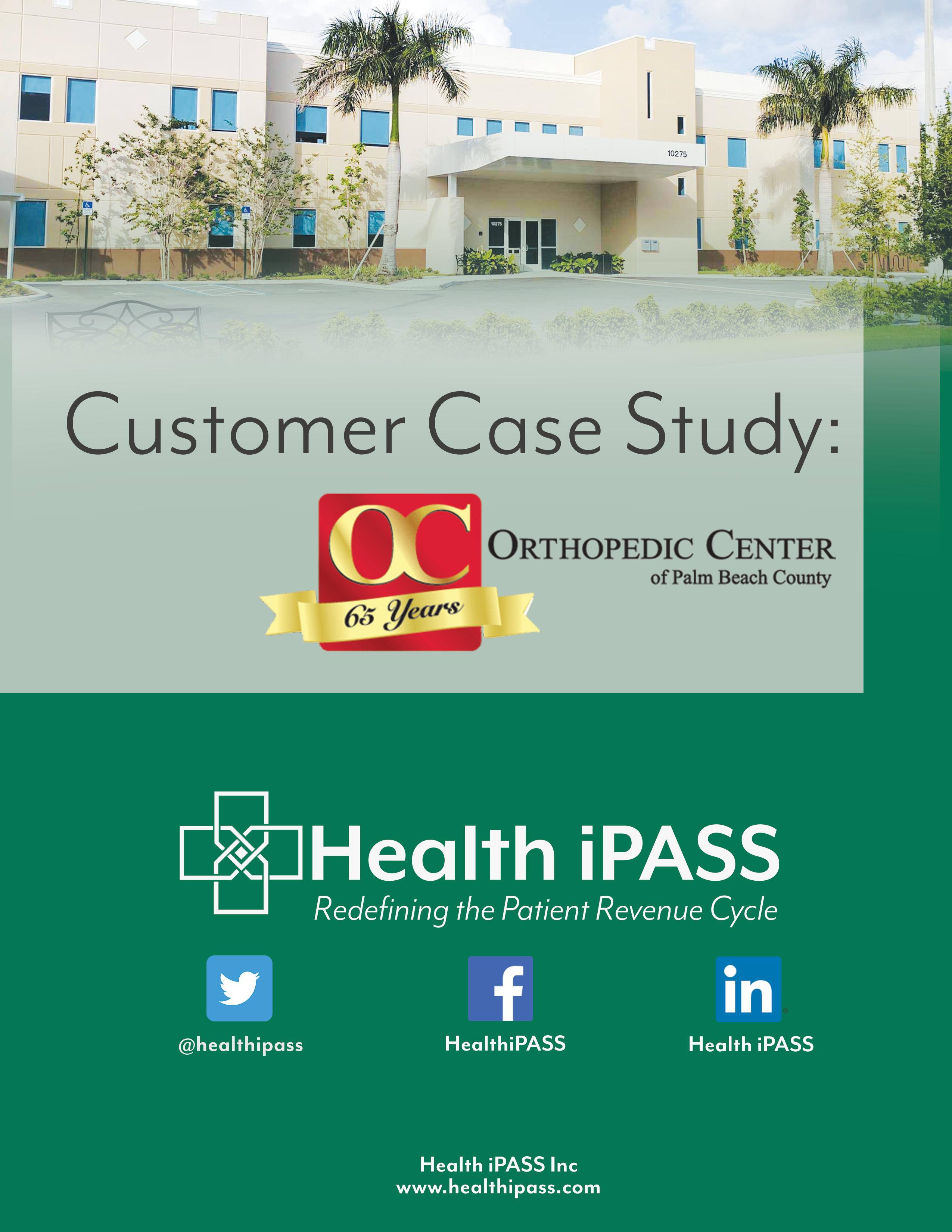 OCPBC Case Study Cover Page