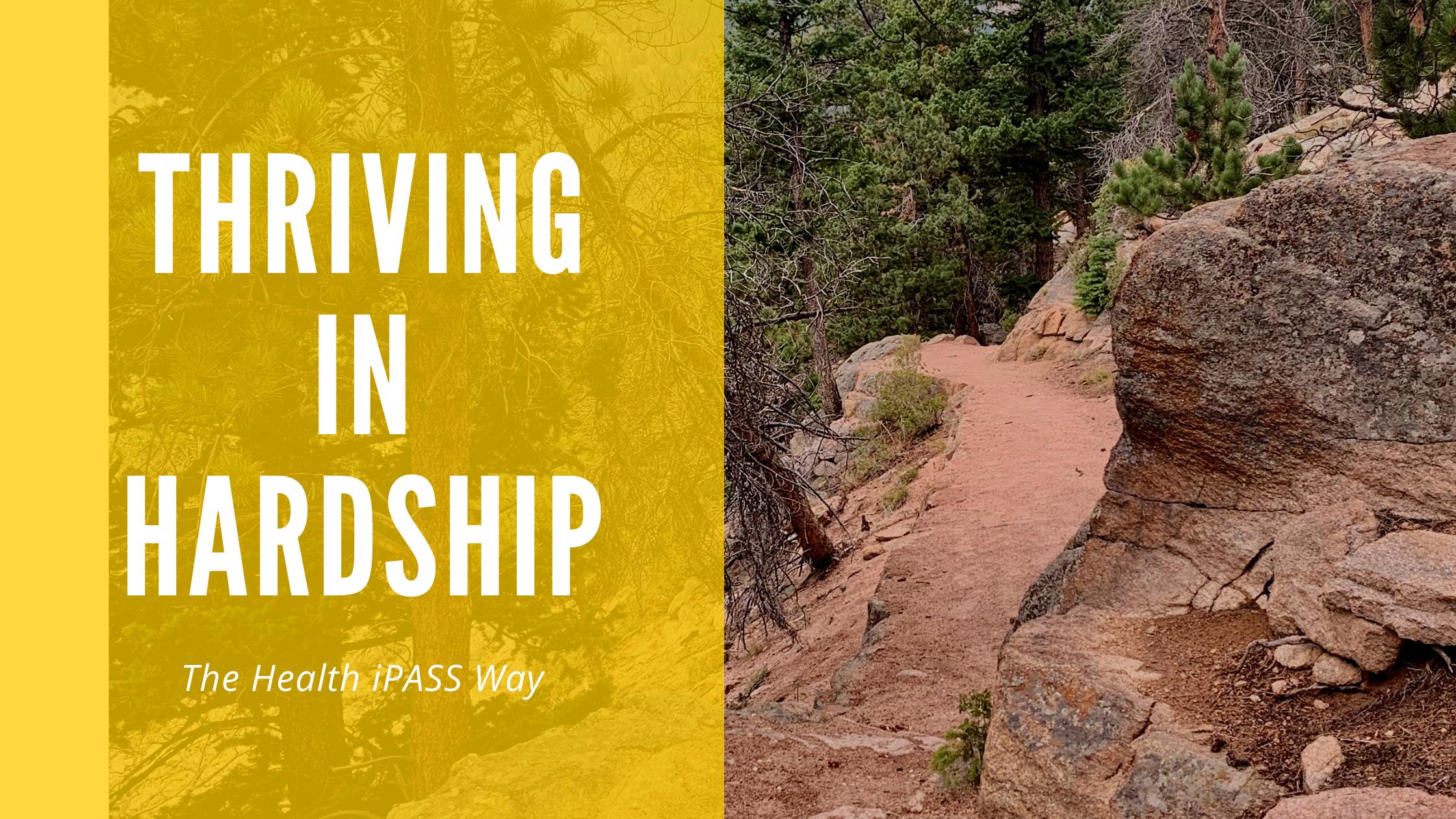Thriving In hardship