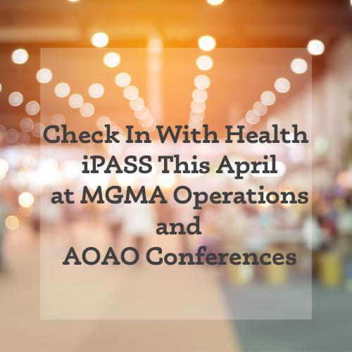MGMA AOAO Conference